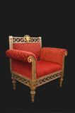 antique armchair Stock Photos
