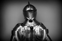 Antique, Armor, Black-and-white Royalty Free Stock Photography