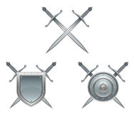 Antique arms. On a white background royalty free illustration