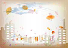 Antique artistic watercolor background Royalty Free Stock Photos