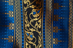 Antique Asian textile Stock Photography