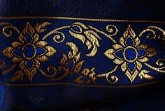 Antique Asian textile Royalty Free Stock Photos