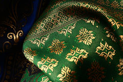 Antique Asian textile Royalty Free Stock Image