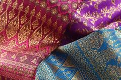 Antique Asian textile Stock Images