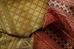 Antique Asian textile Stock Photography
