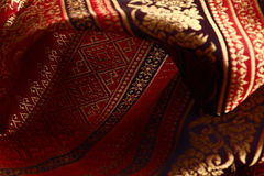 Antique Asian textile Royalty Free Stock Photo