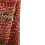 Antique Asian textile Royalty Free Stock Photography
