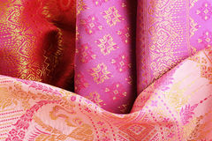 Antique Asian textile Stock Photos