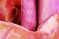 Antique Asian textile Stock Photos