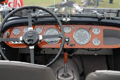 Antique aston martin gauges Stock Images