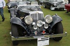 Antique aston martin roadster Stock Photos