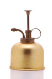 Antique Atomizer. Isolated over a white background with reflection stock images