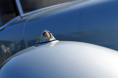 Antique french car detail. Classic French car fender detail close up. 1938 panhard dynamic at boca raton concours, 2013 Stock Photo