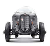 Antique Auto racing GAZ GL-1. Front view. Royalty Free Stock Images