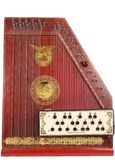 Antique Autoharp Royalty Free Stock Images