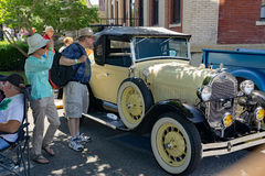 Antique Automobile Royalty Free Stock Photos