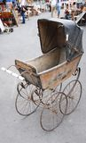 Antique baby carriage Stock Image
