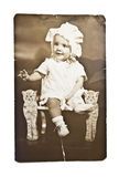 Antique Baby Photo stock photography