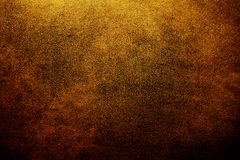 Antique background. Brown leather in dimly lit Stock Photo