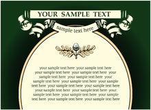 Antique background. Vector antique background in retro style Royalty Free Stock Photos