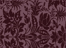Antique background. An antique background image in burgundy Royalty Free Stock Photography