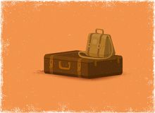 Antique baggage Stock Images