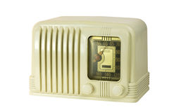 Antique Bakelite Tube Radio 05 Royalty Free Stock Image