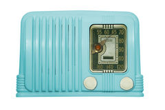 Antique Bakelite Tube Radio Royalty Free Stock Image