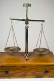 Antique Balance Scale Royalty Free Stock Image