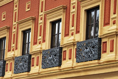 Antique balcony Stock Images