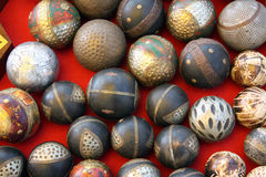 Antique Balls Background Royalty Free Stock Photo