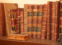 Antique Bank Ledgers Stock Photography