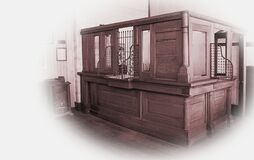 Free Antique Bank Station Stock Photography - 179053782