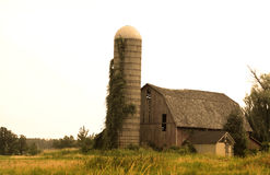 Antique Barn Royalty Free Stock Photography