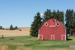 Antique barn in the northern Idaho area Royalty Free Stock Photos