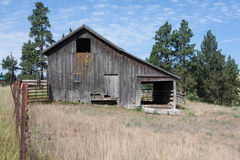 Antique barn in the northern Idaho area Royalty Free Stock Photo
