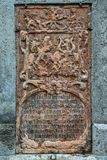 Antique bas-relief Stock Images