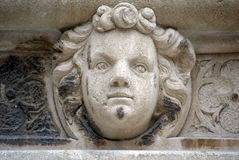 Antique bas-relief, St. James Cathedral, Sibenik Royalty Free Stock Image