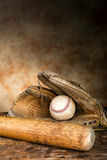 Antique baseball gear Stock Photos