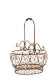 Antique basket Royalty Free Stock Photo