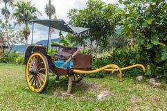 Antique Bataknese andong made from hard wood Royalty Free Stock Photo