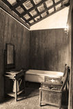 Antique Bath home in the Orotava Royalty Free Stock Photography