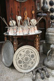 Antique bazaar at street Royalty Free Stock Photo