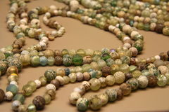 Antique beads Stock Photography