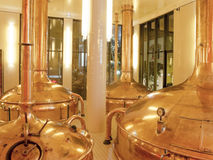 Antique Beer Factory Stock Image