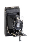 Antique bellows camera Stock Images