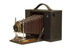 19th Century Antique Bellows Camera royalty free stock photos