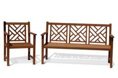 antique bench wood Στοκ φωτογραφία με δικαίωμα ελεύθερης χρήσης