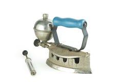 Antique benzene Iron 03 Royalty Free Stock Image