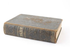 Antique bible royalty free stock photography